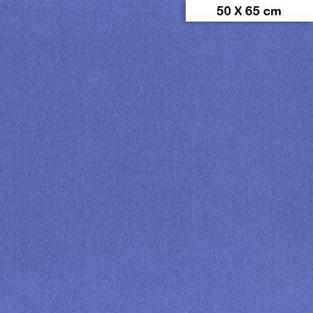 Etival - Papiers dessin à grain couleur - 160g - 50 x 65 cm - Bleu outremer