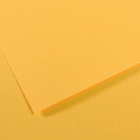 Papier Mi-Teintes - 50 x 65 cm - 160 g/m² - bouton d'or (400)