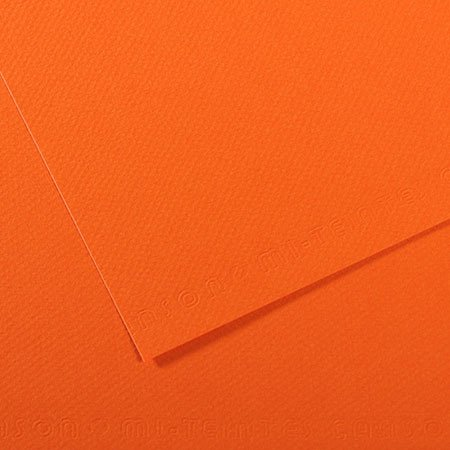 Papier Mi-Teintes - 50 x 65 cm - 160 g/m² - orange (453)