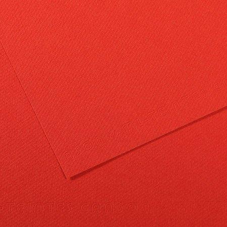 Papier Mi-Teintes - 50 x 65 cm - 160 g/m² - coquelicot (506)