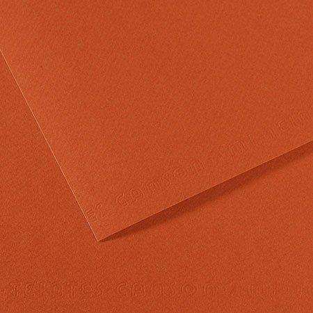Papier Mi-Teintes - 50 x 65 cm - 160 g/m² - terre rouge (130)