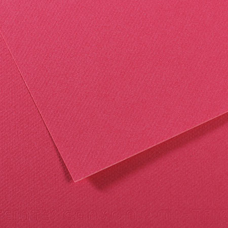 Papier Mi-Teintes - 50 x 65 cm - 160 g/m² - framboise (114)