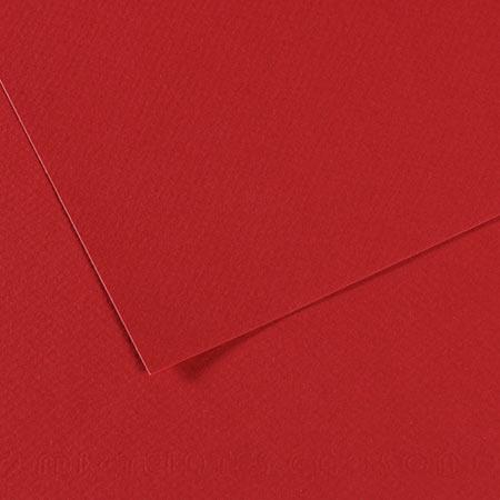 Papier Mi-Teintes - 50 x 65 cm - 160 g/m² - bordeaux (116)