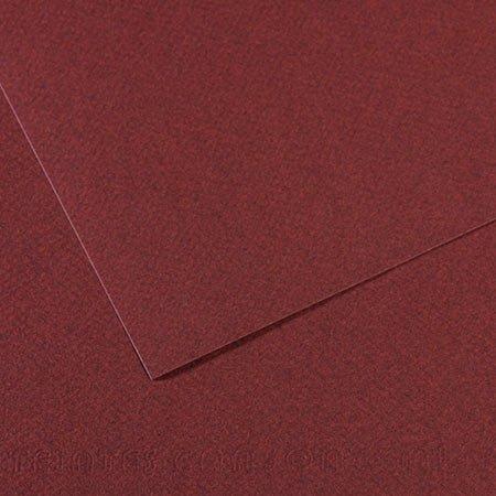 Papier Mi-Teintes - 50 x 65 cm - 160 g/m² - lie-de-vin (503)