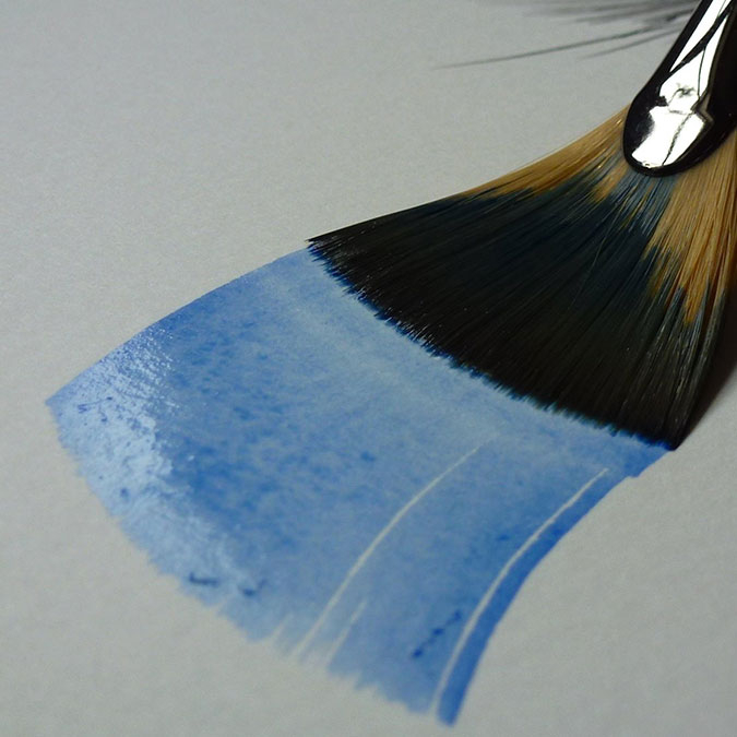 Papier aquarelle 56 x 76 cm Grain Fin 300 g/m²