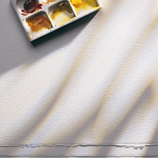 Papier aquarelle 56 x 76 cm Grain Torchon 300 g/m²