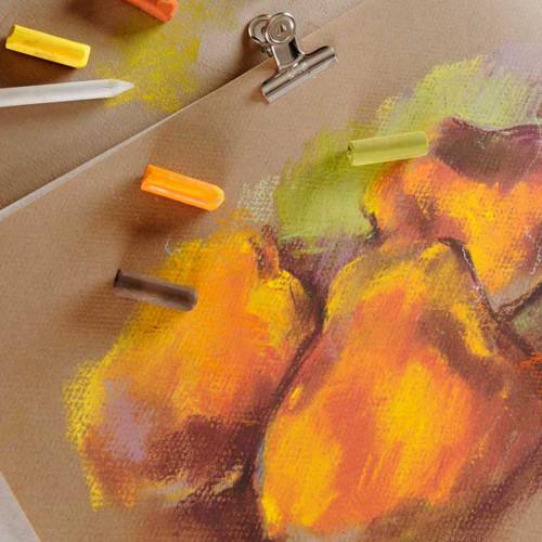 Papier Mi-Teintes - 50 x 65 cm - 160 g/m² - jaune soleil (553)