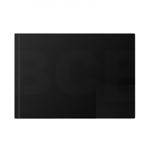 Livre à croquis format paysage couverture noire 140g/m²