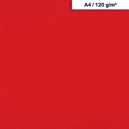 Pack de Papier Maya x 25f. - 120g - A4 - Rouge