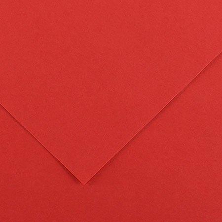 Papier Iris Vivaldi - 50 x 65 cm - 120 g/m² - rouge (15)
