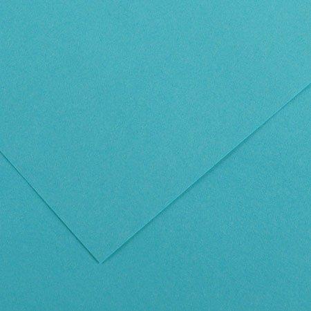 Papier Iris Vivaldi - 50 x 65 cm - 120 g/m² - bleu turquoise (25)