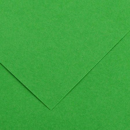 Papier Iris Vivaldi - 50 x 65 cm - 240 g/m² - vert franc (29)