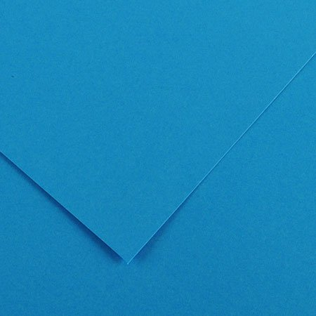 Papier Iris Vivaldi - 50 x 65 cm - 120 g/m² - bleu azur (22)