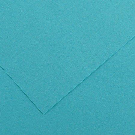 Papier Iris Vivaldi - 50 x 65 cm - 240 g/m² - bleu turquoise (25)
