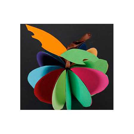 Papier Iris Vivaldi - 50 x 65 cm - 240 g/m² - rose pétale (10)