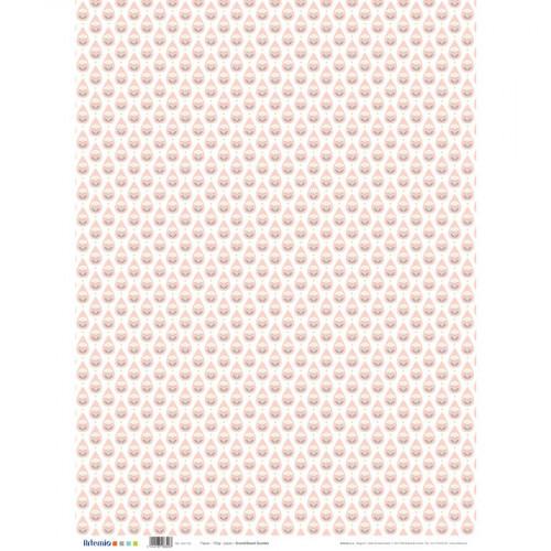 Scandisweet - Papier - Gouttes - 50 x 70 cm