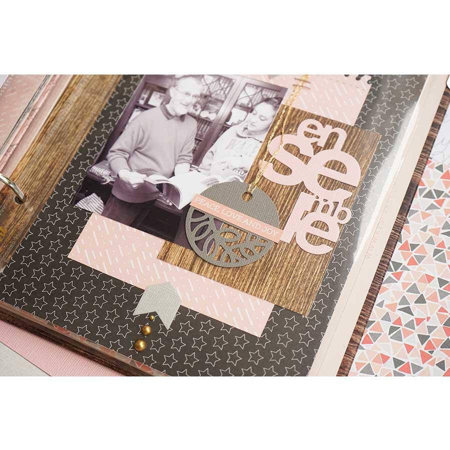 December 25th - Papier imprimé Candy - 48 x 68 cm