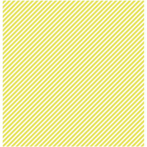 Basics - Cardstock étoile-rayure - vert lime
