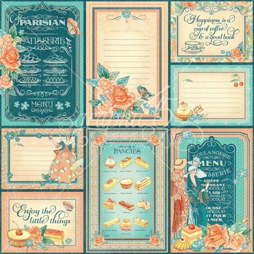 Café Parisian - Papier Life is Sweet