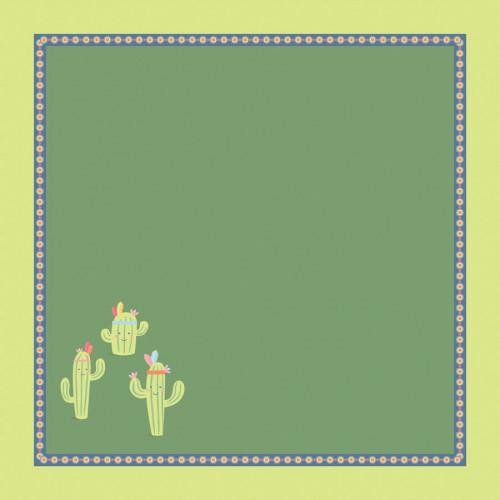 Totem - Papier cactus