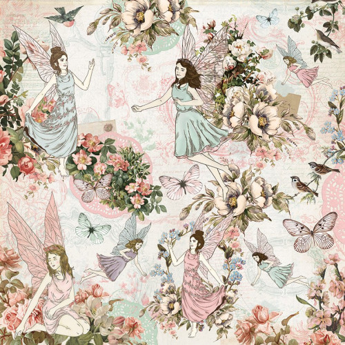 Fairy Garden - Papier Fairy Dance