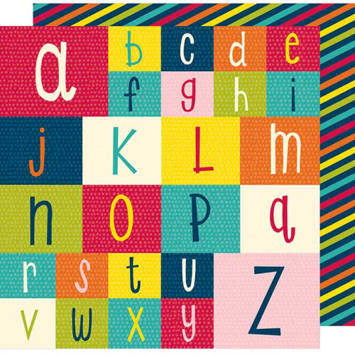Box of Crayons - Papier Spell It Out