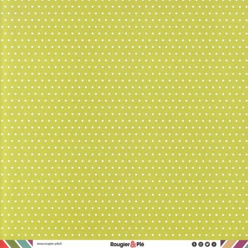 Papier recto-verso - bambou / pois & étoiles