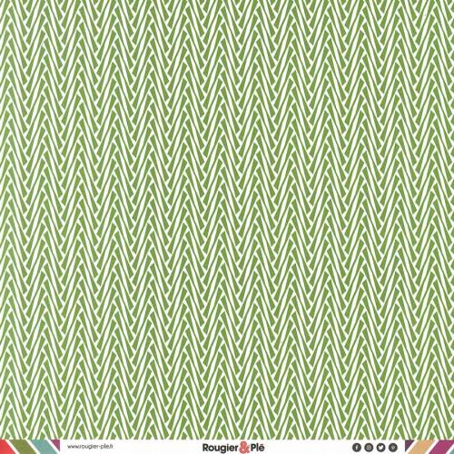Papier recto-verso - prairie / géométrique
