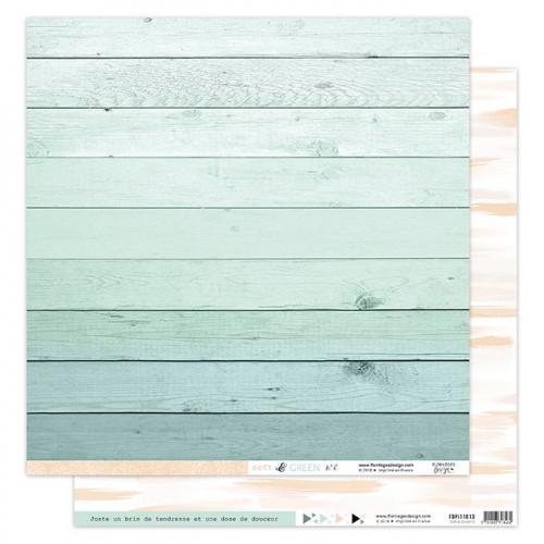 Soft & Green - Papier imprimé #6
