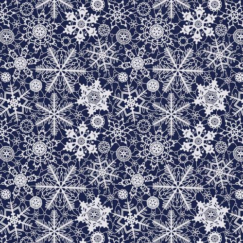 Wonderland - Papier Snow Crystals