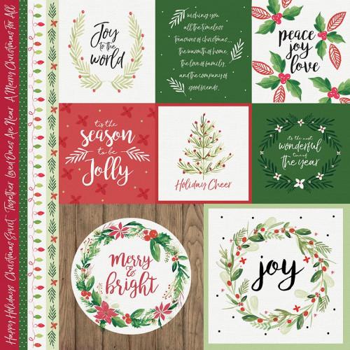 Peace & Joy - Papier Merry