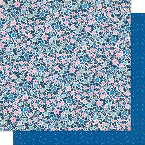 Willow Lane - Papier Periwinkle