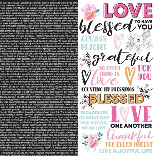 Blessed - Papier Have Faith