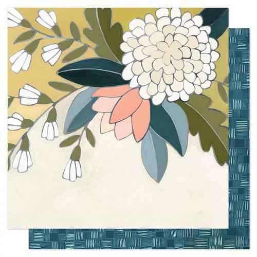 Goldenrod - Papier Goldenrod Floral