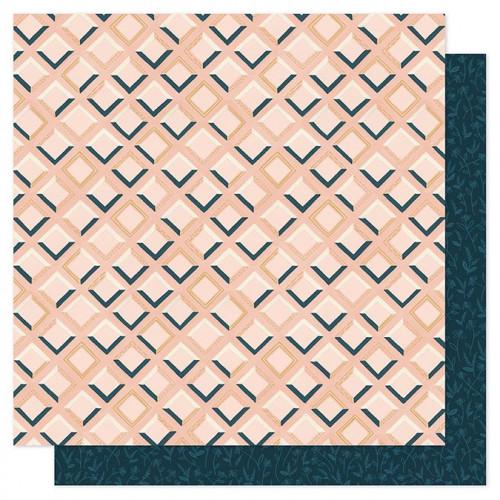 Goldenrod - Papier Pink Tile