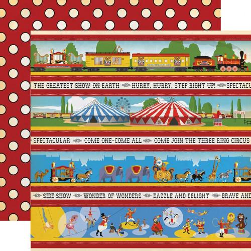Circus - Papier Border Strips