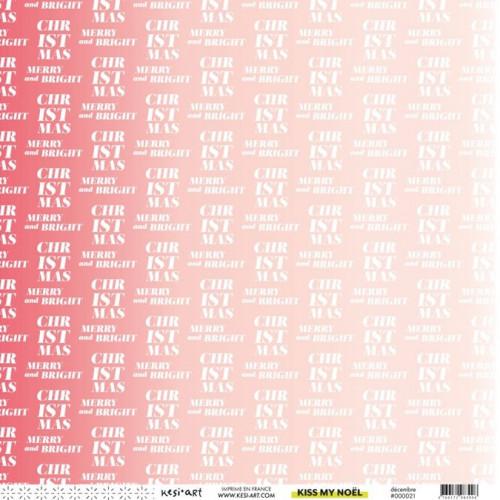 Kiss My Noël - Papier Décembre