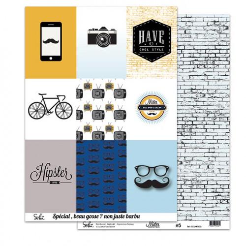 Mister Hipster - Papier # 5