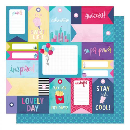 Sparkle City - Papier Stay Super