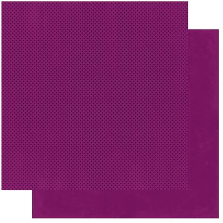 Double Dot - Papier Boysenberry