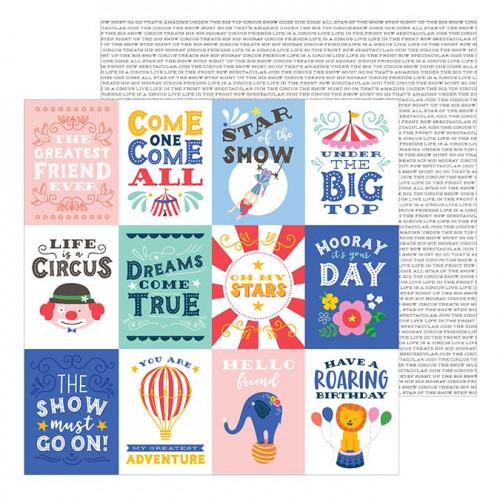 Big Top Dreams - Papier Big Top Quotes