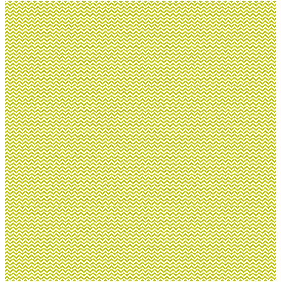 Basics - Cardstock cœur-chevron - vert