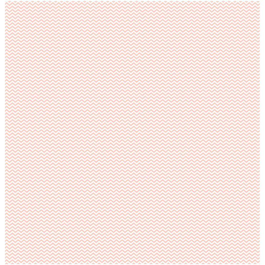 Basics - Cardstock cœur-chevron - rose saumon
