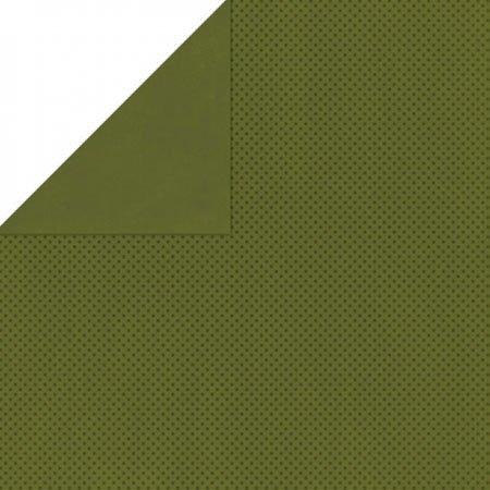 Double Dot - Papier Olive
