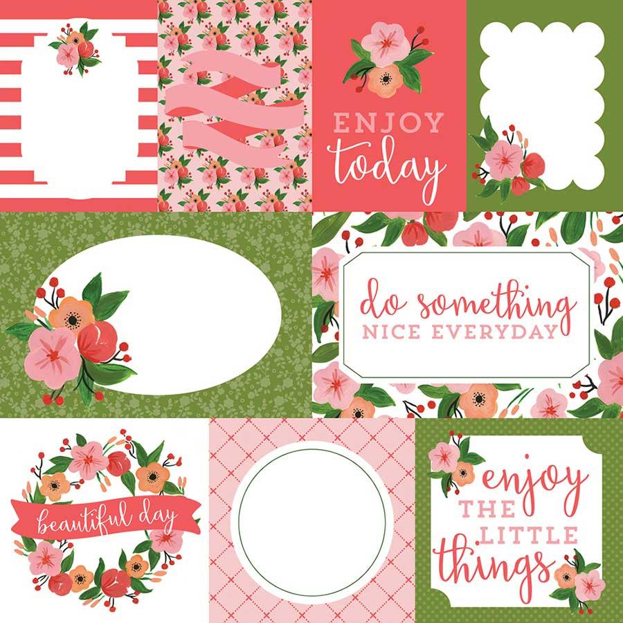 Flora - Papier Petunia Patch Journaling Cards