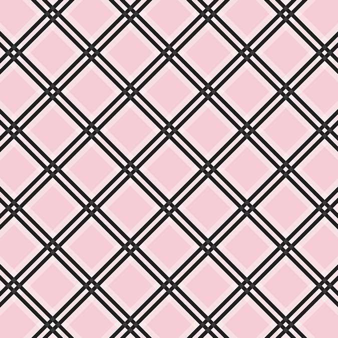 Tartan - Papier Pink Tattersall