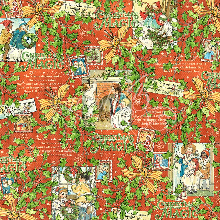 Christmas Magic - Papier Merry Memories