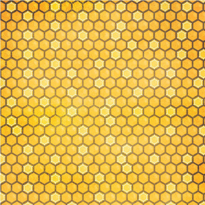 Bee-utiful You - Papier Honeycomb