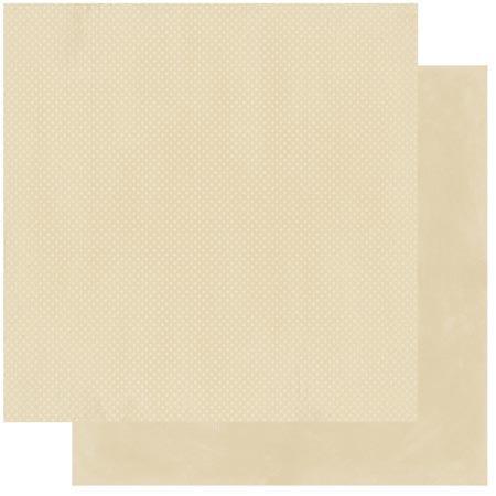 Double Dot - Papier Almond