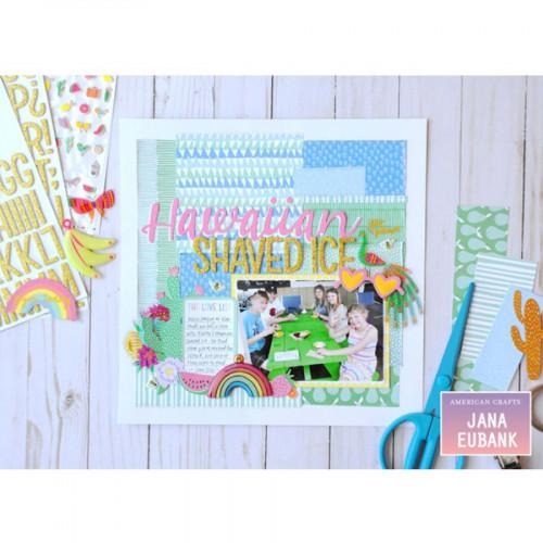 Sunshine & Good Times - Papier Shoe In